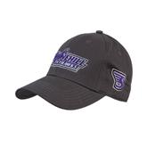 Charcoal Heavyweight Twill Pro Style Hat-Stonehill Skyhawks