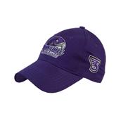 Purple Heavyweight Twill Pro Style Hat-Official Logo