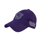 Purple Heavyweight Twill Pro Style Hat-S
