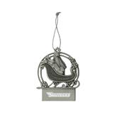 Pewter Sleigh Ornament-Skyhawks Engraved
