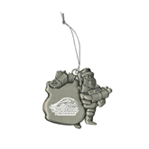 Pewter Santa Ornament-Official Logo Engraved