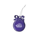 Purple Bulb Ornament-Official Logo Engraved