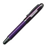 Carbon Fiber Purple Rollerball Pen-Skyhawks Engraved
