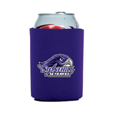 Collapsible Purple Can Holder-Official Logo