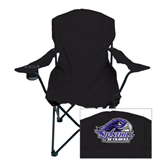 Deluxe Black Captains Chair-Official Logo