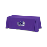 Purple 6 foot Table Throw-Official Logo