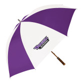 64 Inch Purple/White Umbrella-Stonehill Skyhawks