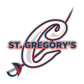 Large Decal-St. Gregorys w/ C, 12 inches tall