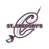 Small Decal-St. Gregorys w/ C, 6 inches tall