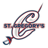Extra Large Decal-St. Gregorys w/ C, 18 inches tall