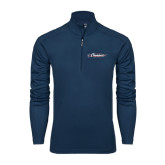 Syntrel Navy Interlock 1/4 Zip-Official Logo