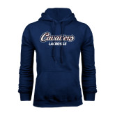 Navy Fleece Hood-Lacrosse