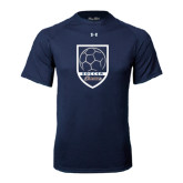 Under Armour Navy Tech Tee-Cavaliers Soccer Shield