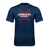 Syntrel Performance Navy Tee-Cavaliers Baseball Seams
