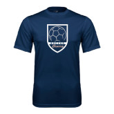 Performance Navy Tee-Cavaliers Soccer Shield