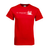 Red T Shirt-University Mark