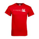 Red T Shirt-University Mark