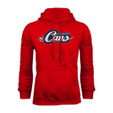 Red Fleece Hood-Cavs w/ Sword