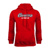 Red Fleece Hood-Lacrosse