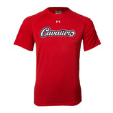 Under Armour Red Tech Tee-Cavaliers Script