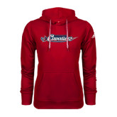 Adidas Climawarm Red Team Issue Hoodie-Official Logo