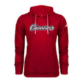 Adidas Climawarm Red Team Issue Hoodie-Cavaliers Script