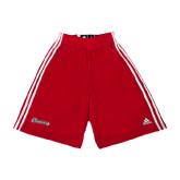 Adidas Climalite Red Practice Short-Cavaliers Script