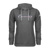 Adidas Climawarm Charcoal Team Issue Hoodie-Cavaliers Script
