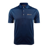 Navy Dry Mesh Polo-Cavaliers Script