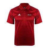 Adidas Climalite Red Jaquard Select Polo-Cavaliers Script
