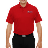 Under Armour Red Performance Polo-Cavaliers Script