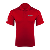 Adidas Climalite Red Game Time Polo-Cavaliers Script