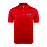 Red Dry Mesh Polo-Cavaliers Script