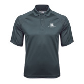Charcoal Dri Mesh Pro Polo-University Mark Stacked
