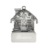 Pewter House Ornament-Cavaliers Script Engraved
