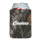 Collapsible Mossy Oak Camo Can Holder-Cavaliers Script