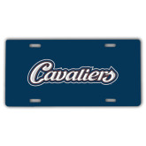 License Plate-Cavaliers Script