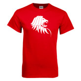Red T Shirt-Lion Head