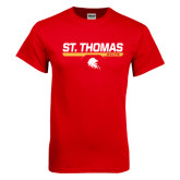 Red T Shirt-St. Thomas Celts w/ Bar