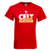 Red T Shirt-Celt Nation