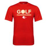 Performance Red Tee-Golf w/ Ball