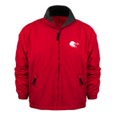 Red Survivor Jacket-Lion Head w/ Celts