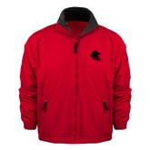 Red Survivor Jacket-Lion Head