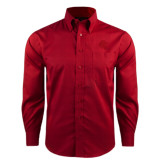 Red House Red Long Sleeve Shirt-Lion Head