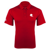 Adidas Climalite Red Grind Polo-Lion Head