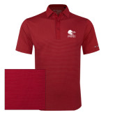 Columbia Red Omni Wick Sunday Golf Polo-Official Logo