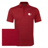 Columbia Red Omni Wick Sunday Golf Polo-Lion Head w/ Celts