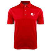 Red Dry Mesh Polo-Lion Head w/ Celts
