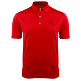 Red Dry Mesh Polo-Lion Head