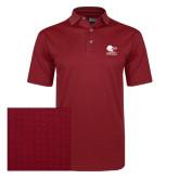 Callaway Red Jacquard Polo-Official Logo